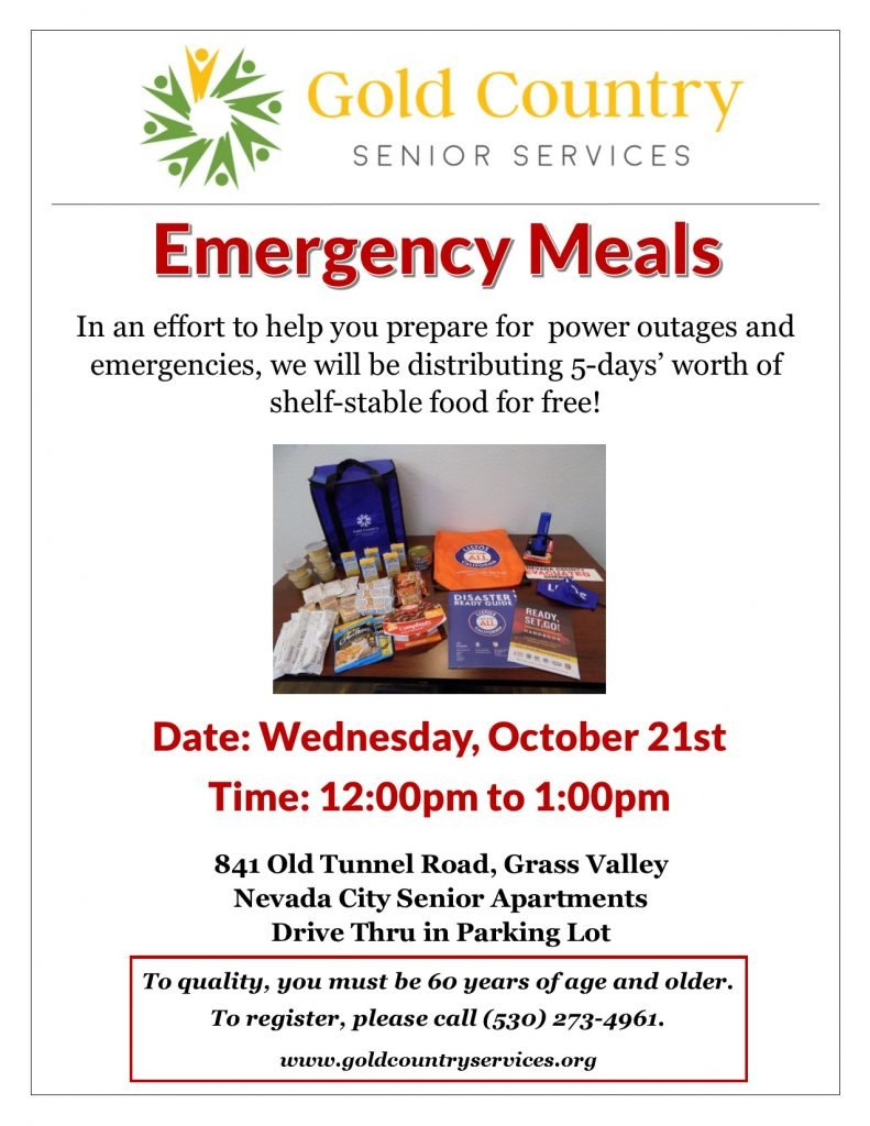 Emergency Meals Distribution
